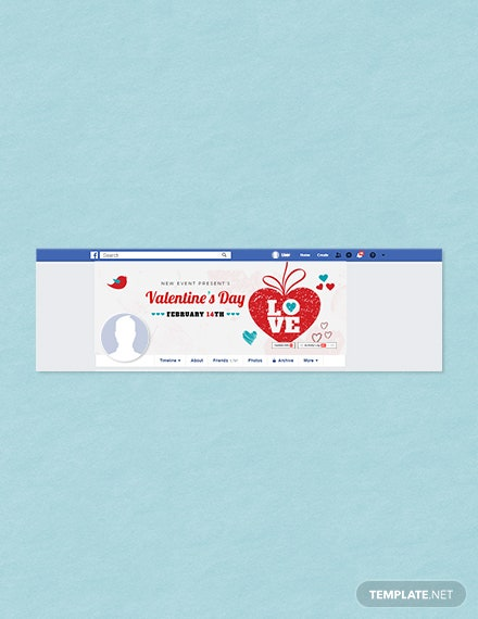 Free Valentine's Day Facebook Cover