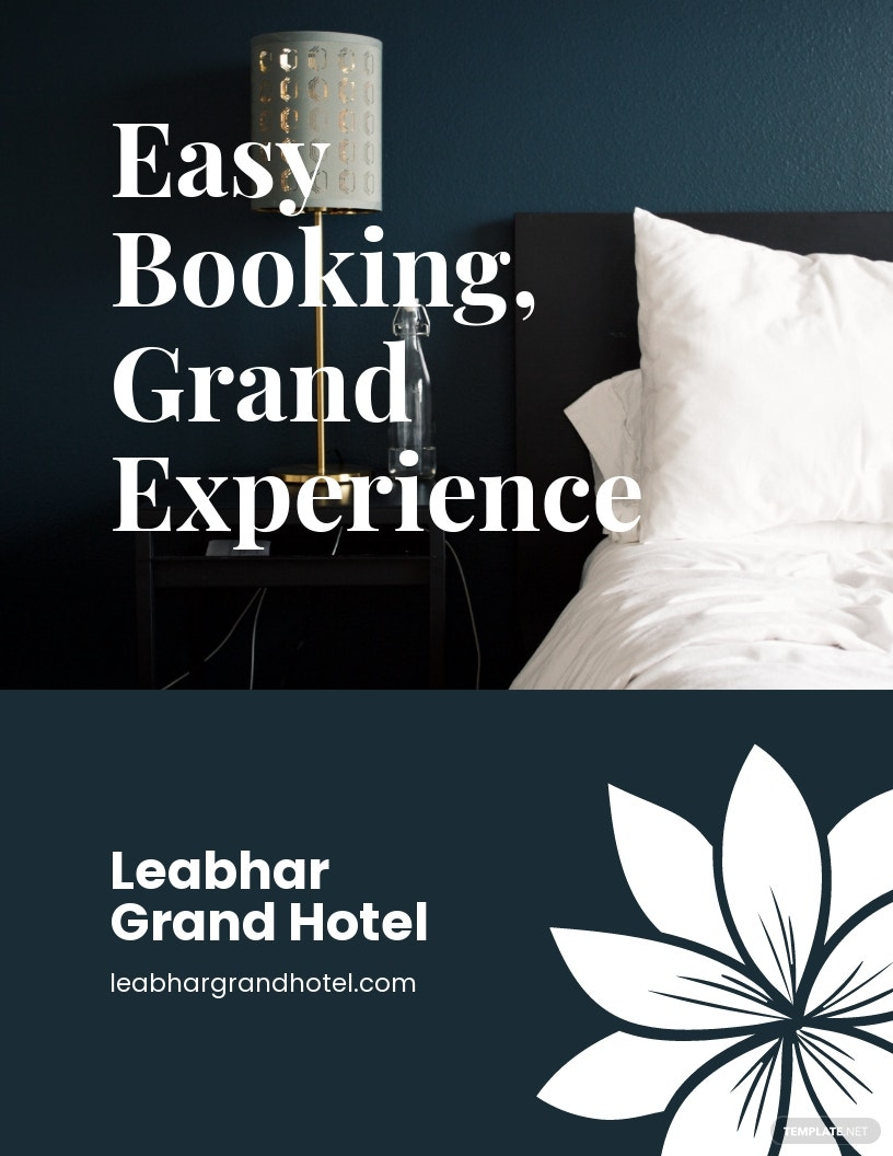 Hotel Booking Flyer Template
