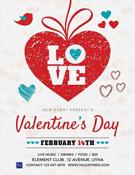 Free Valentine's Day Love Flyer