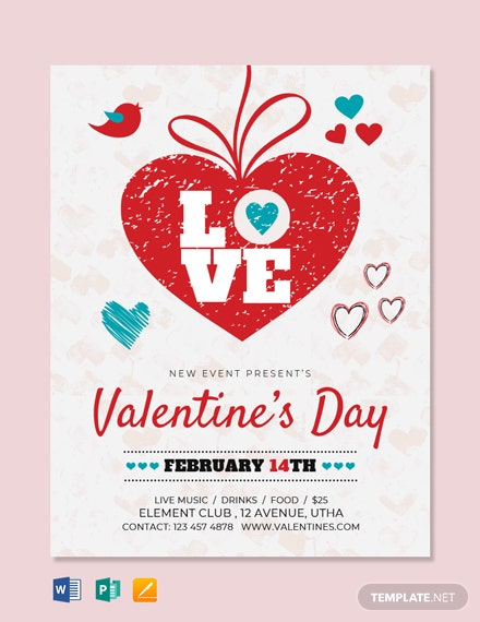 Free Valentine's Day Love Flyer