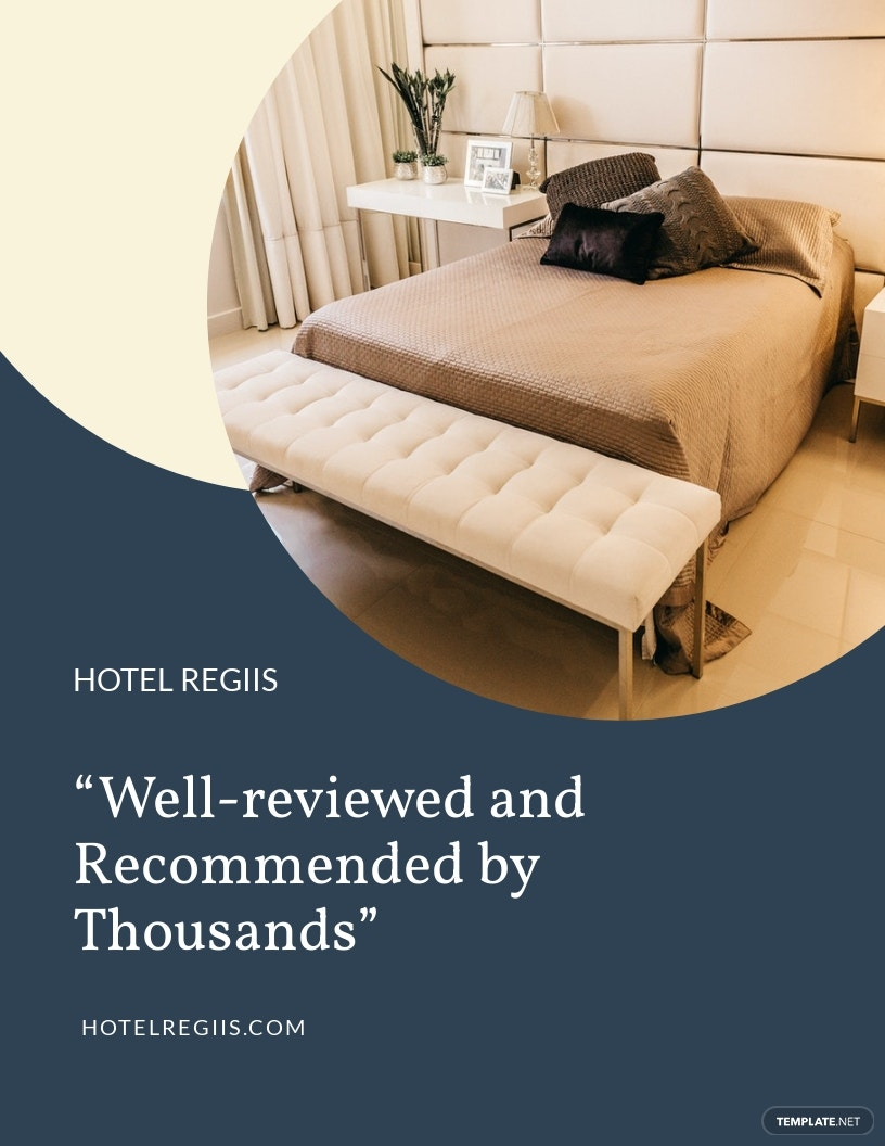Hotel Recommendation Flyer Template