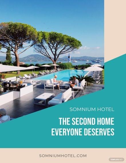Hotel Marketing Flyer Template