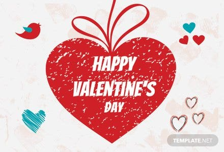 Personalize Valentine Greeting Card