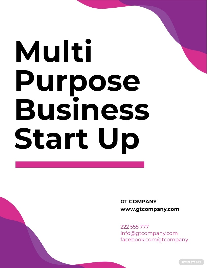 FREE Future Startup Flyer Template.jpe