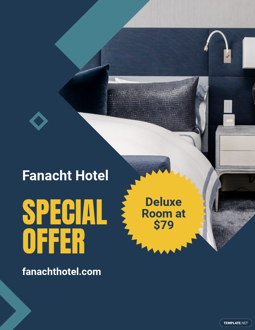Hotel Offers Flyer Template