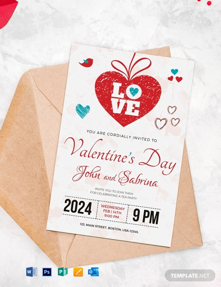 Free Valentine's Day Party Invitation