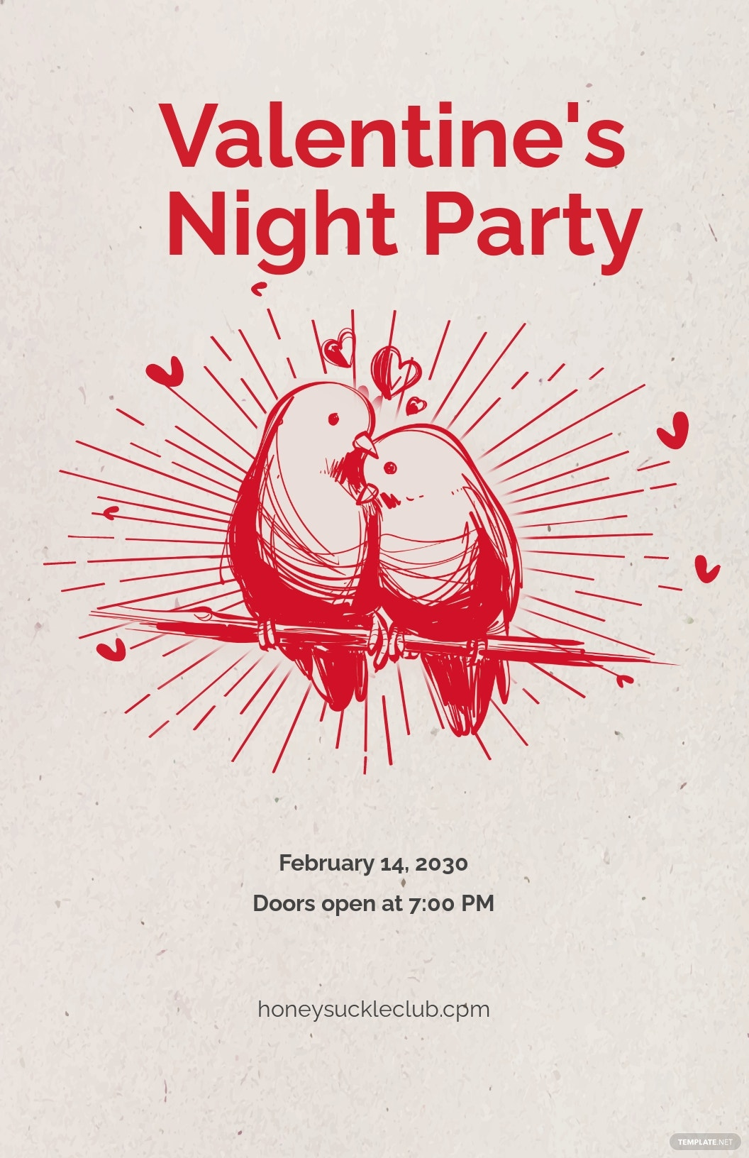 Free Valentine's Day Party Poster.jpe