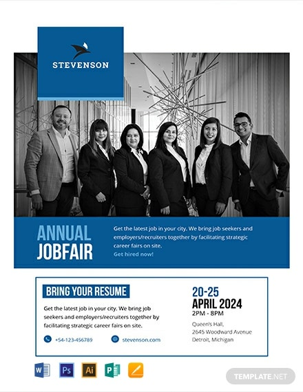 Free Job Fair Flyer Template