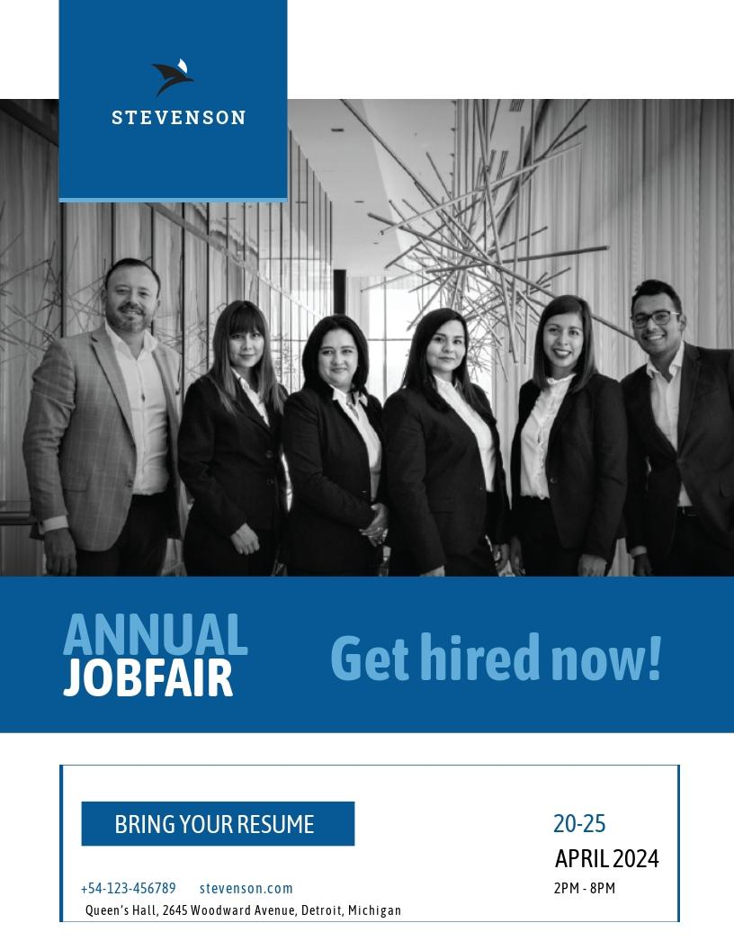 Free Job Fair Flyer Template.jpe