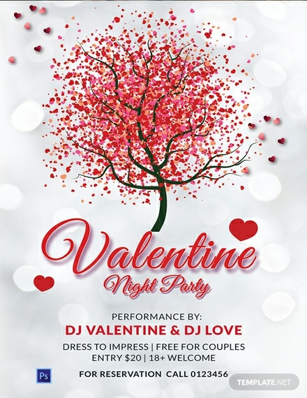 Free Sample Valentines Day Poster