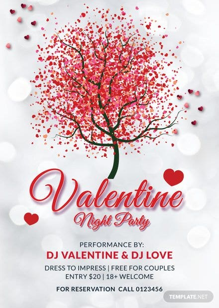 Sample Valentines Day Poster