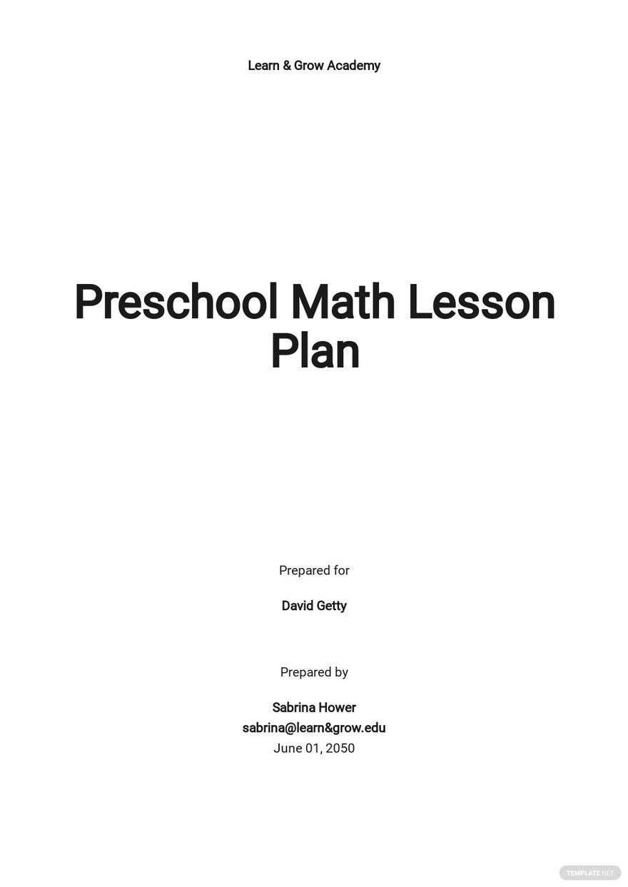 Simple Preschool Lesson Plan Template.jpe