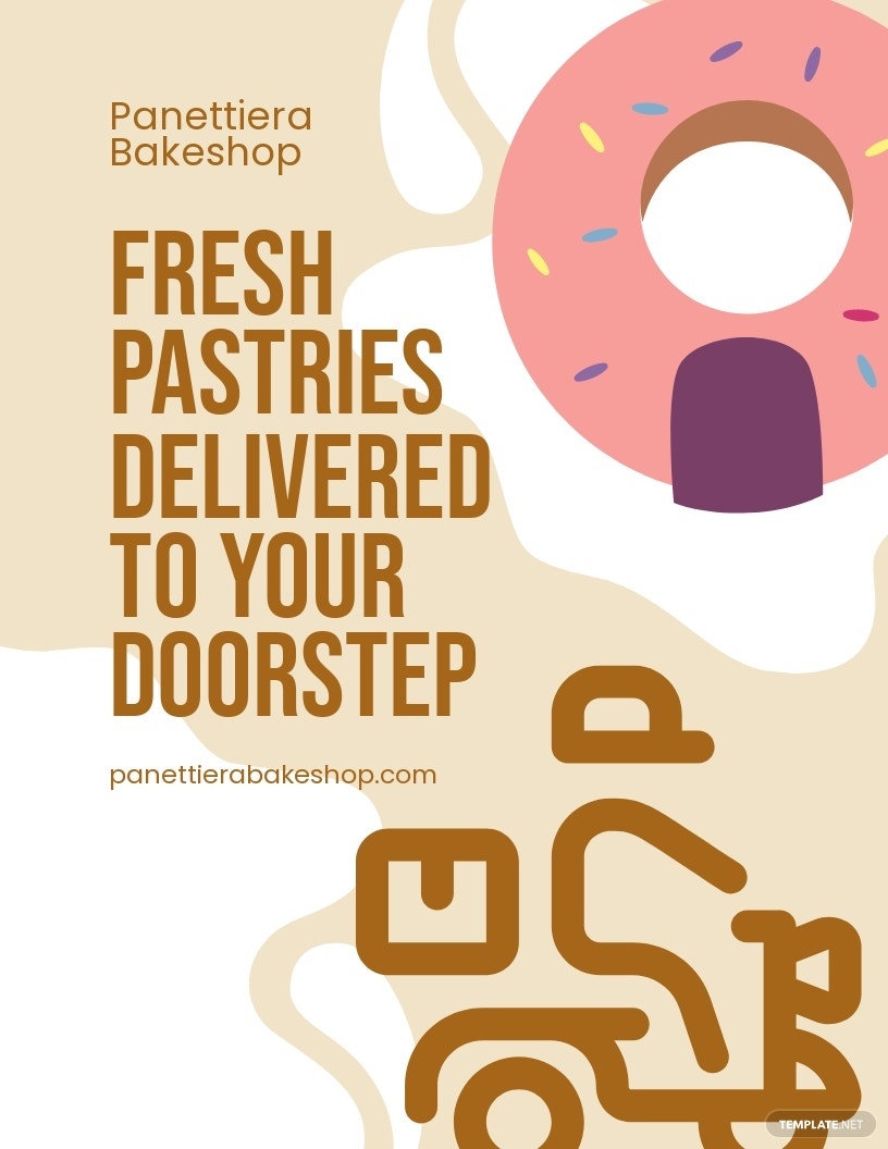 Bakery Delivery Services Flyer Template.jpe
