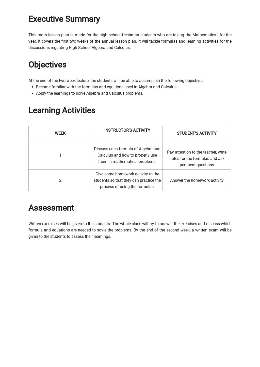High School Math Lesson Plan Template 1.jpe
