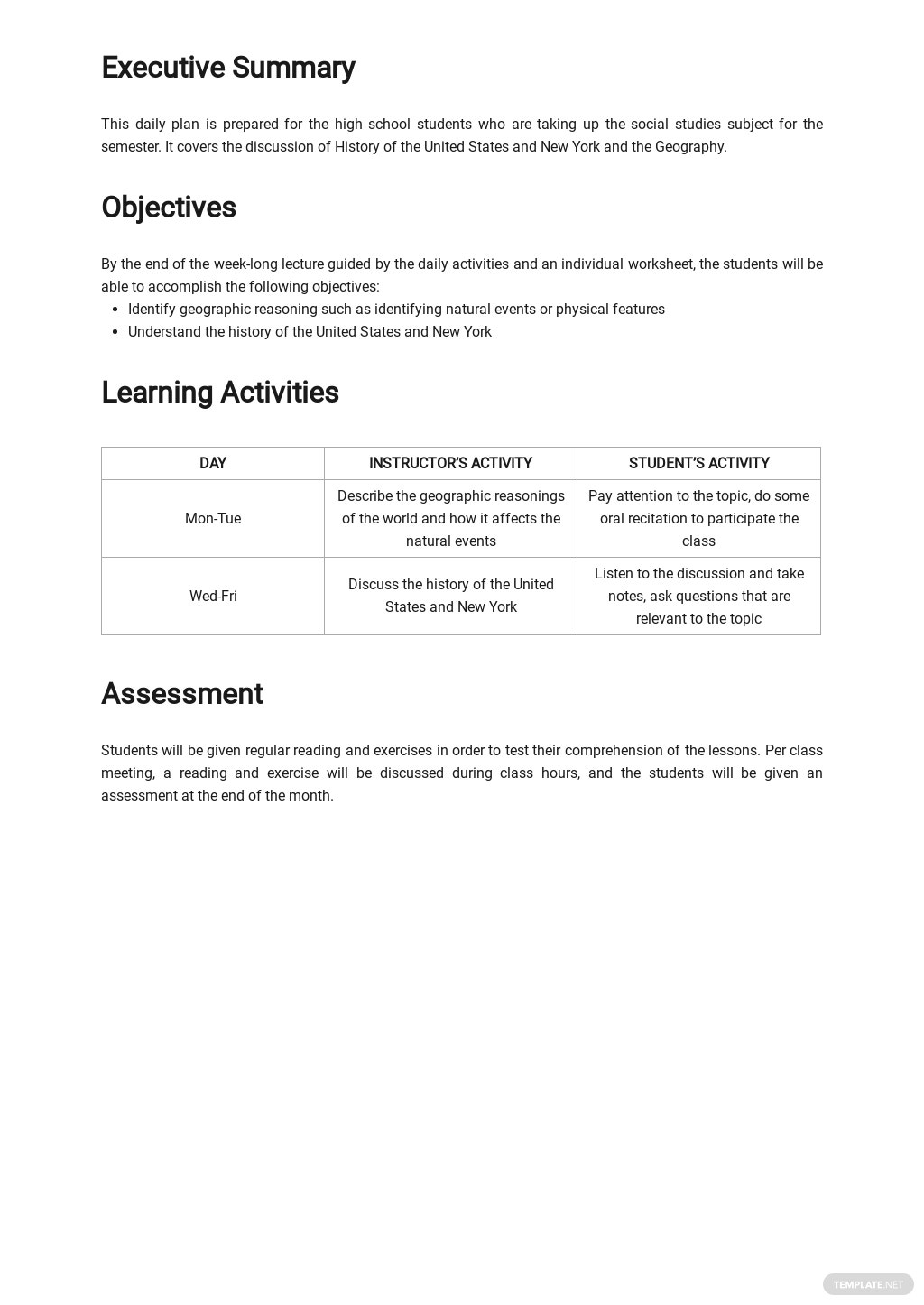 High School Daily Lesson Plan Template 1.jpe