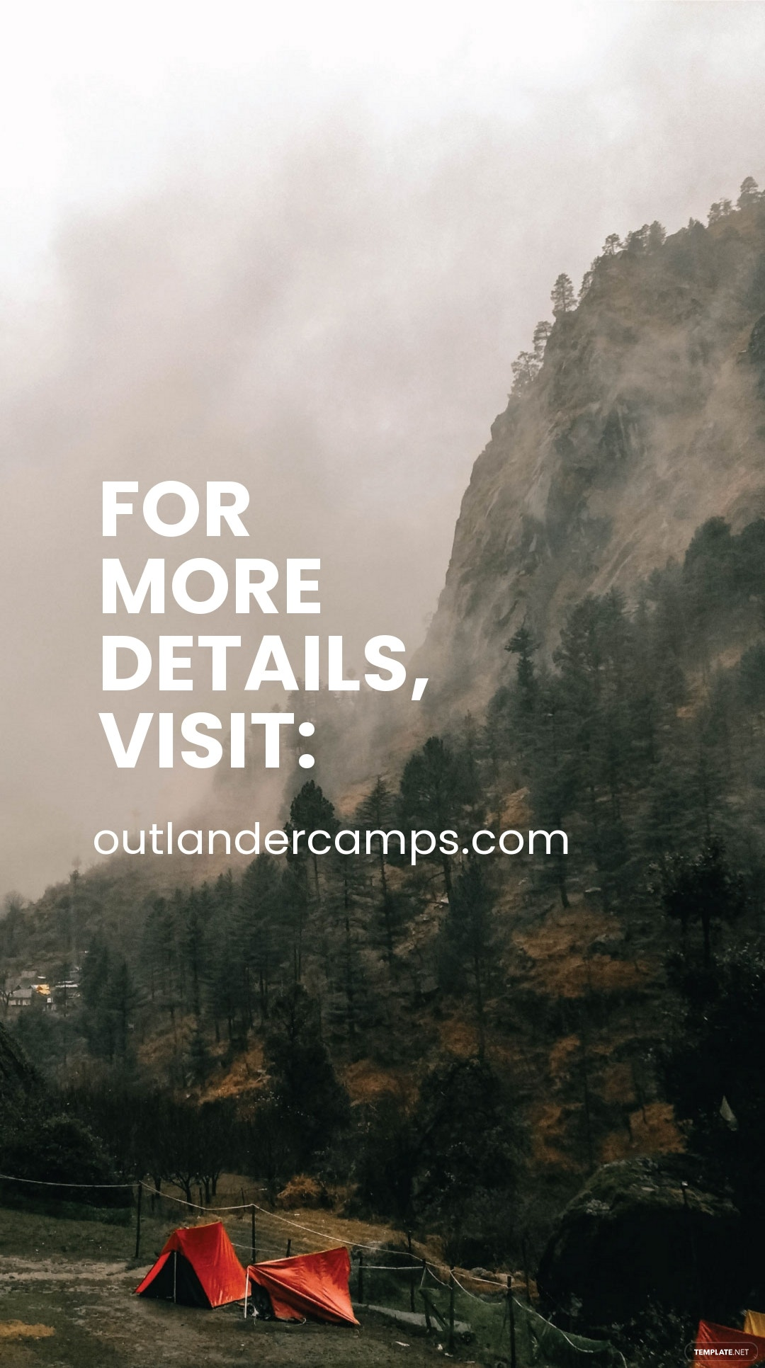 Camping Advertisement Instagram Story Template 4.jpe