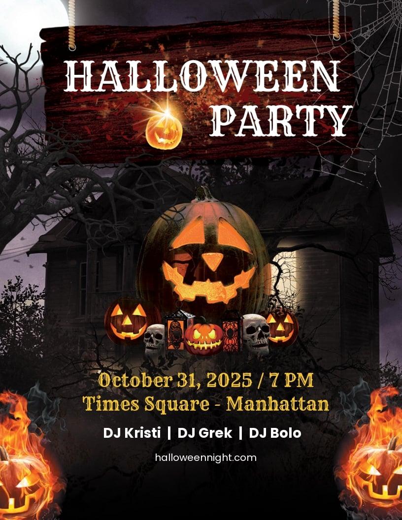 Halloween Horror Night Flyer Template.jpe