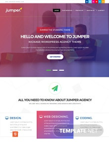 Free Web Design Agency HTML5/CSS3 Website Template
