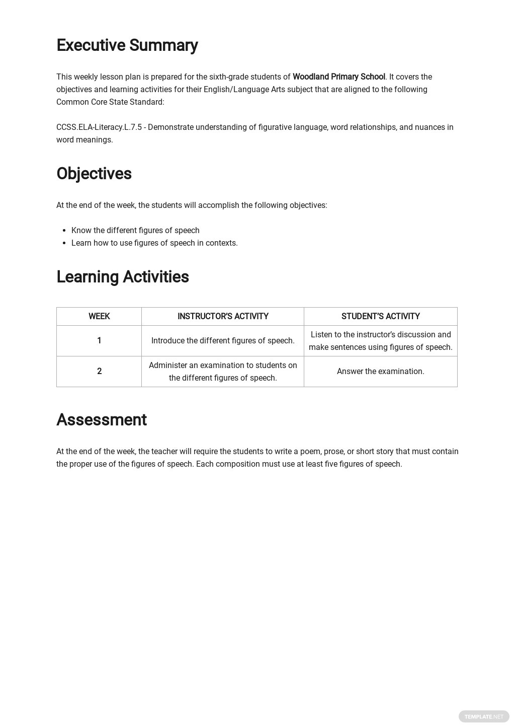 Common Core Weekly Lesson Plan Template 1.jpe