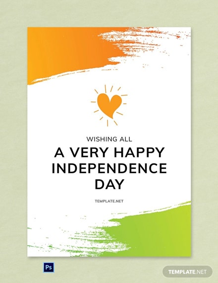 Free Independence Day 15th August