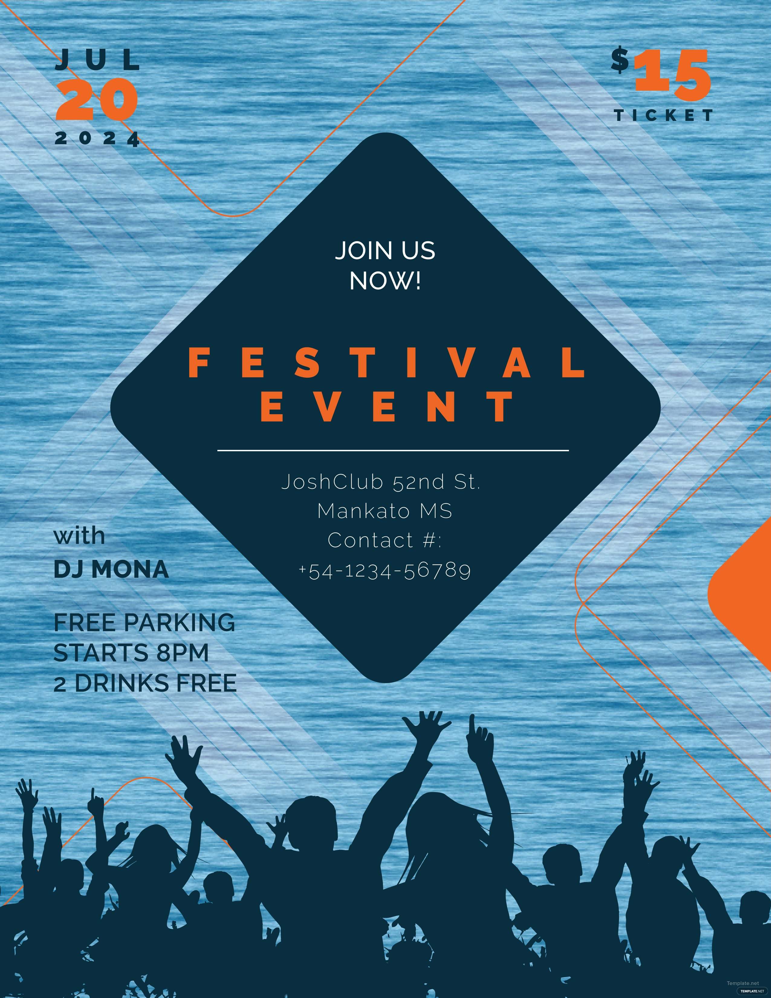 free event flyer templates for publisher