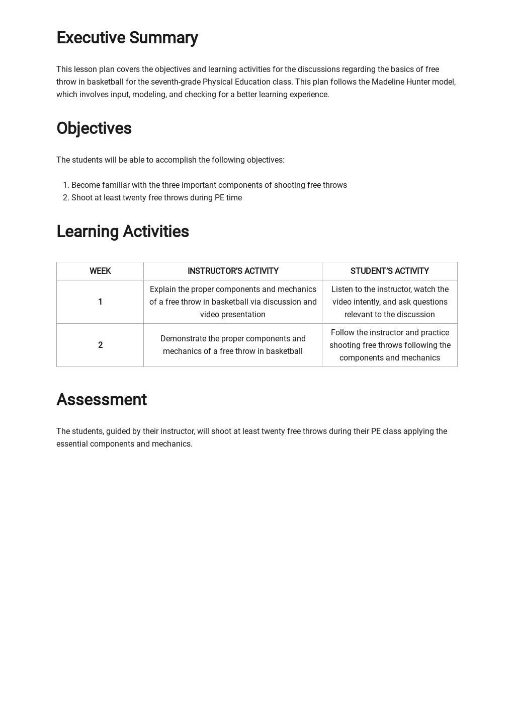 Blank Madeline Hunter Lesson Plan Template 1.jpe