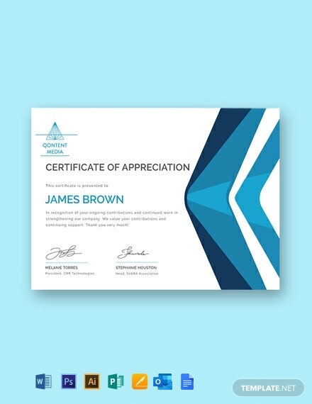 Free Printable Employee Appreciation Certificate Template