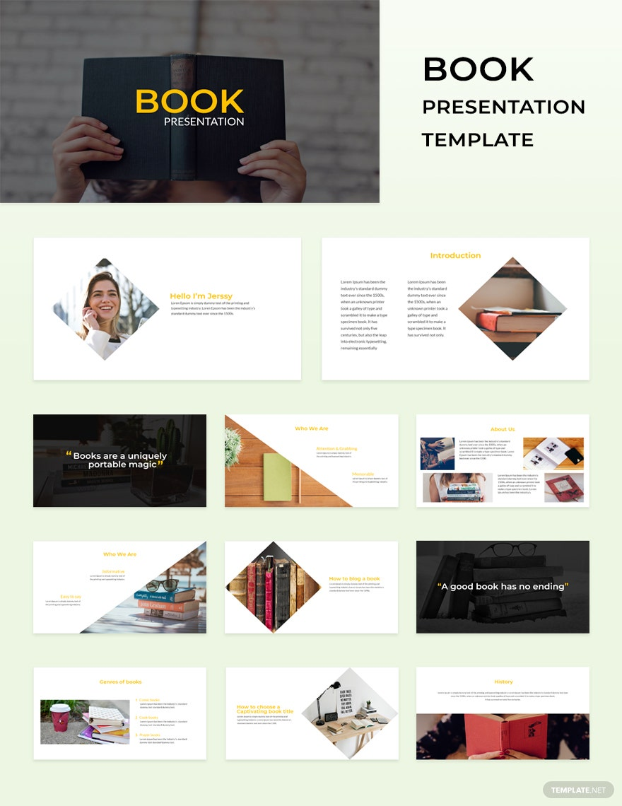 Microsoft Powerpoint Presentation Template