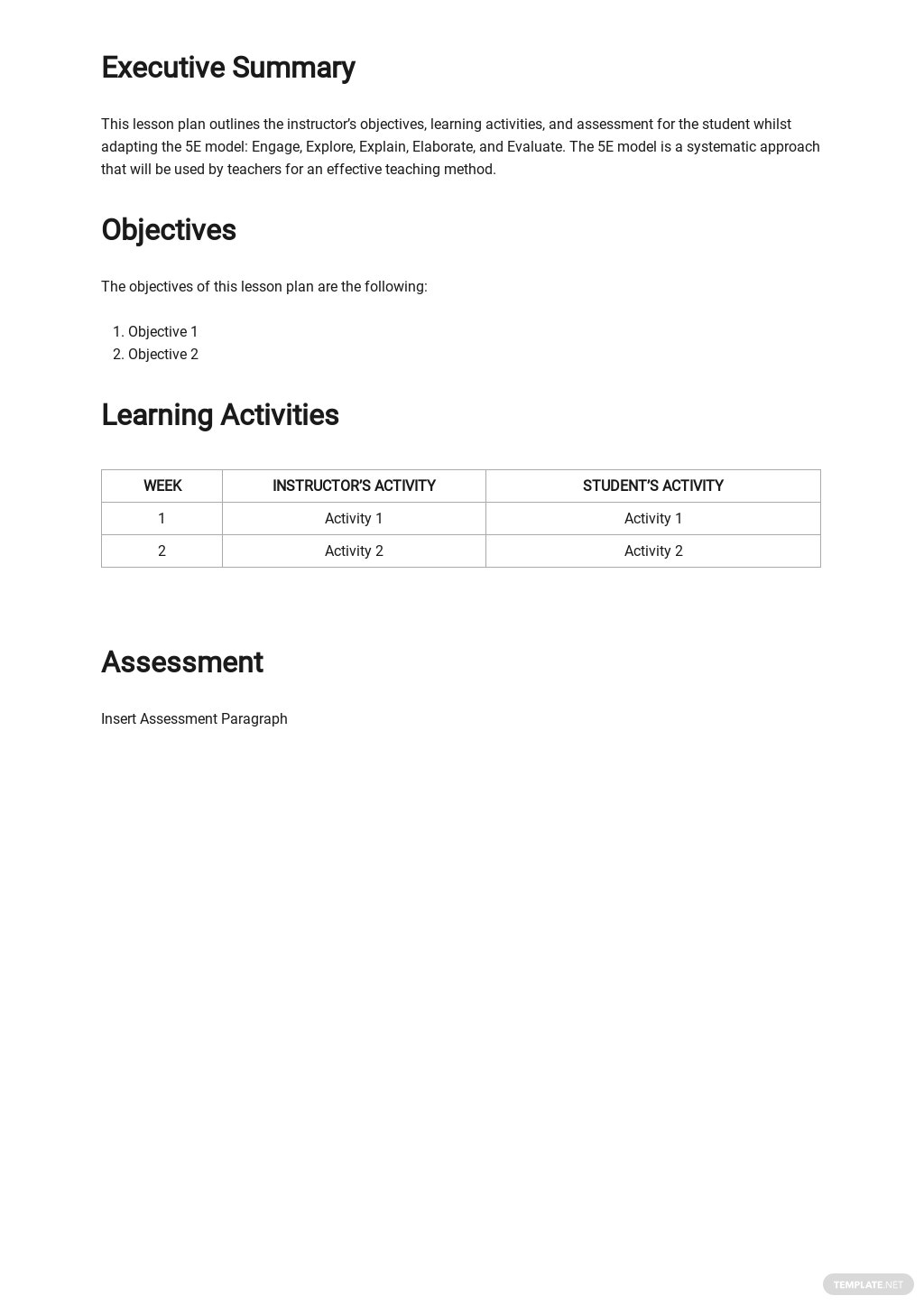Blank 5E Lesson Plan Template 1.jpe