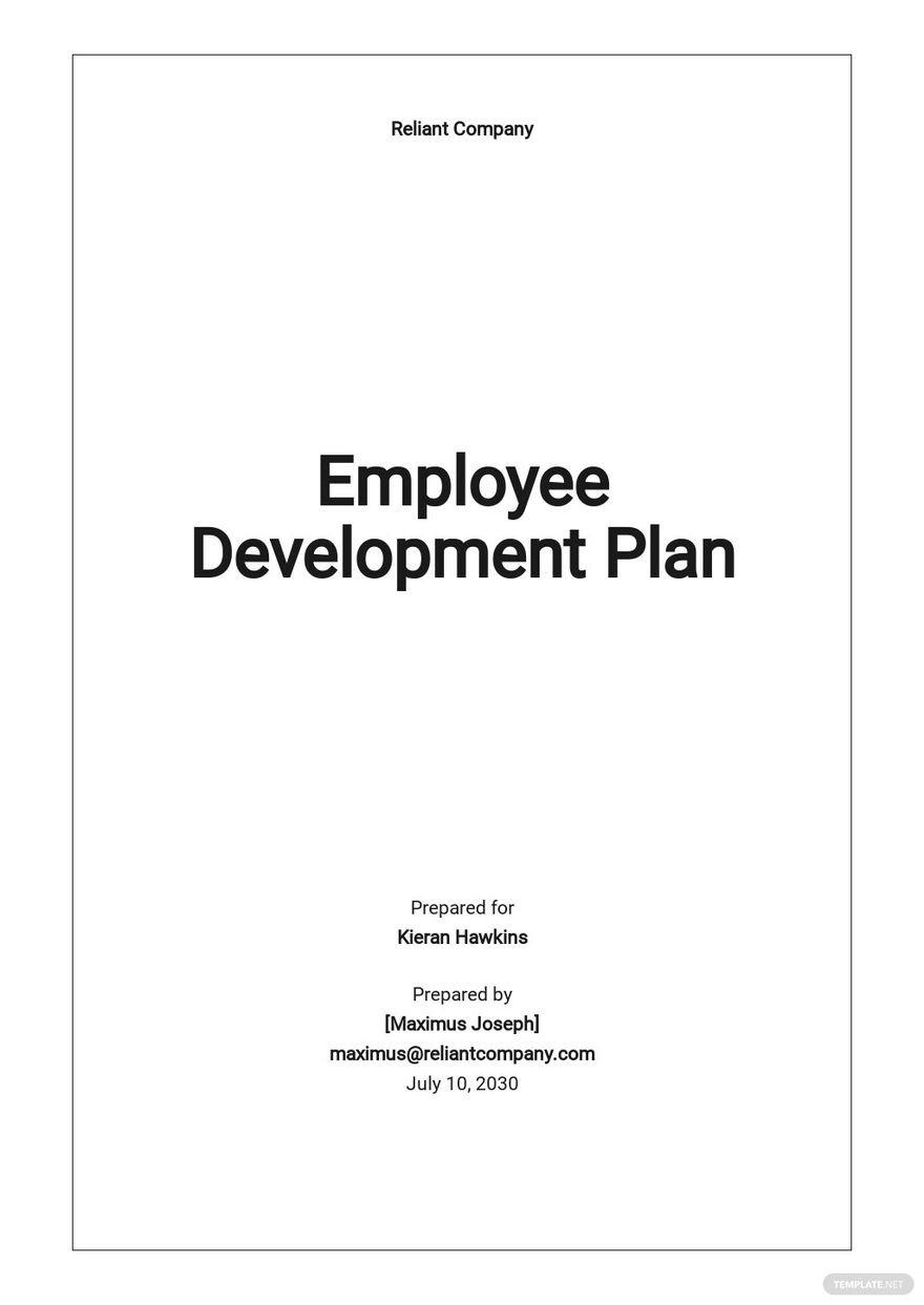 Sample Employee Development Plan Template.jpe