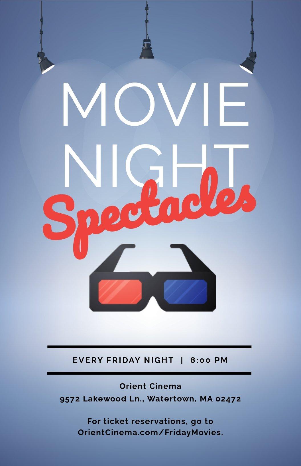 Free Movie Night Poster Template.jpe