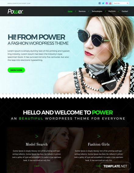 Free Fashion Photo Studio HTML5/CSS3 Website Template