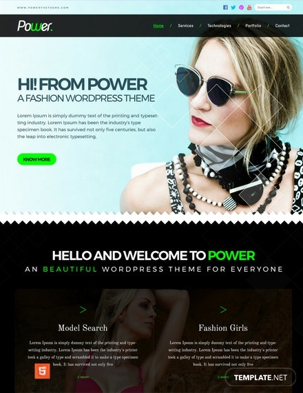 Fashion Photo Studio HTMLCSS Website Template