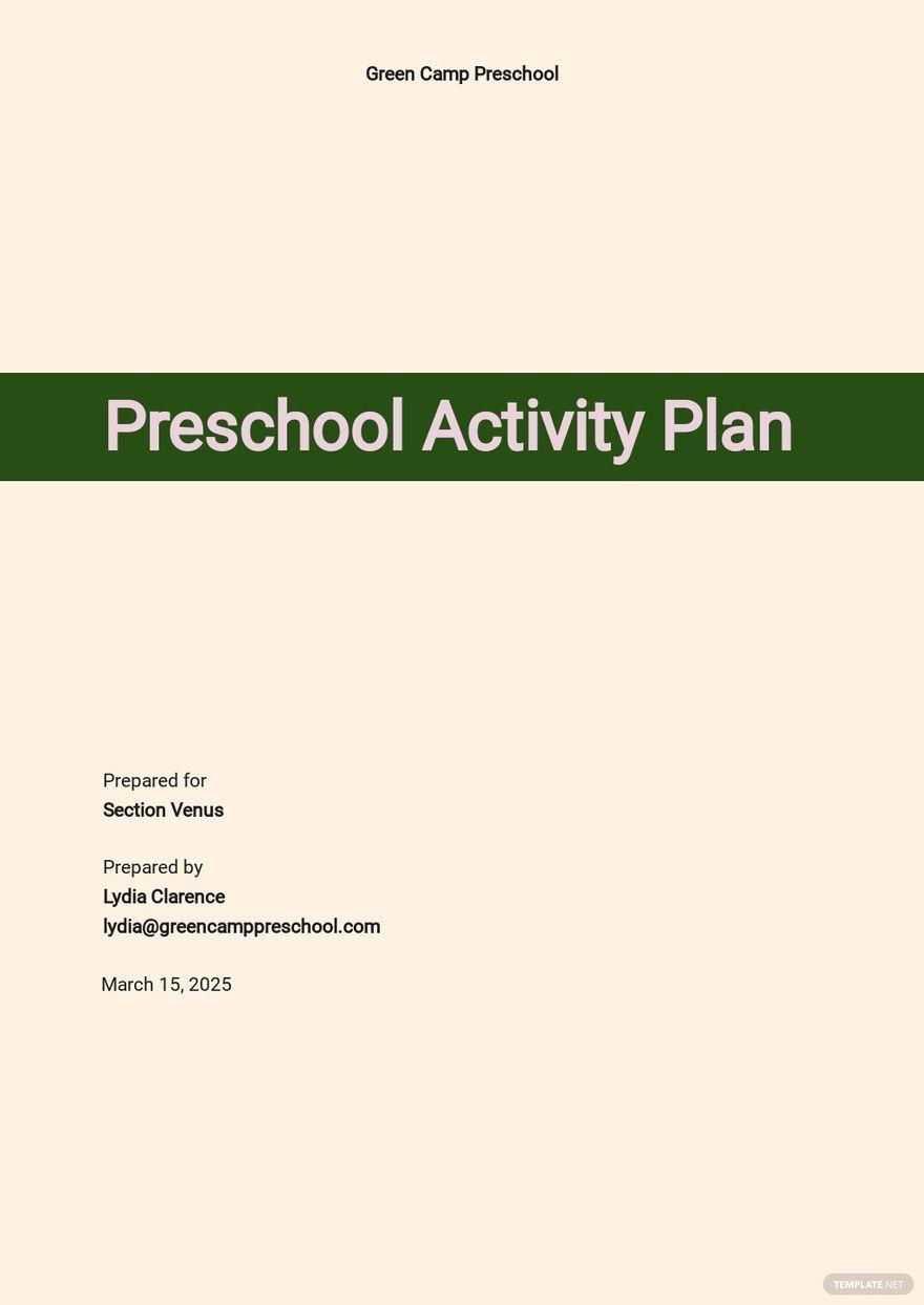 Preschool Activity Plan Template.jpe