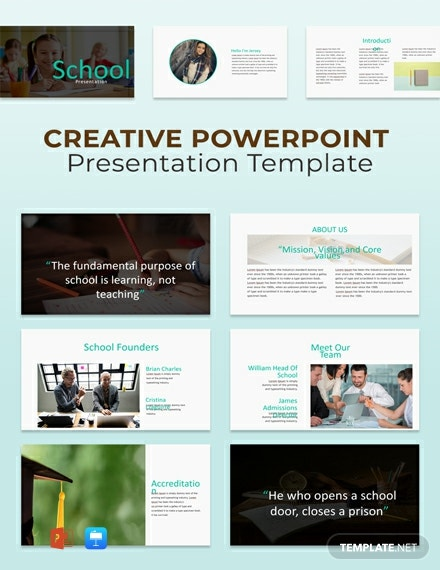 Free Creative Powerpoint Presentation Template
