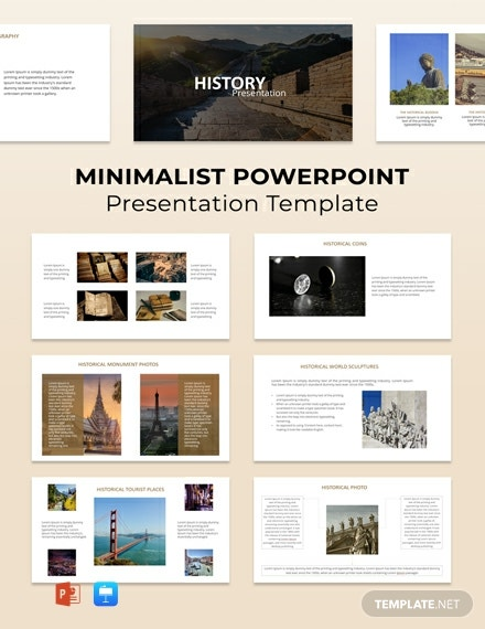 Free Minimalist Powerpoint Presentation Template