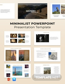 Minimalist Powerpoint Presentation Template