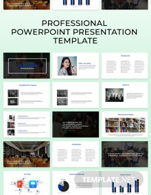 Free Professional Powerpoint Presentation Template