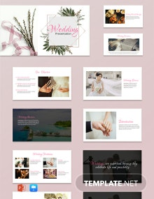 Free Wedding Powerpoint Presentation Template