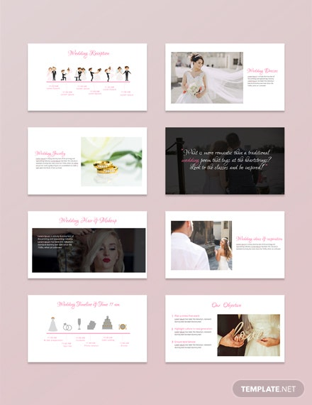 free wedding powerpoint presentation template download 42