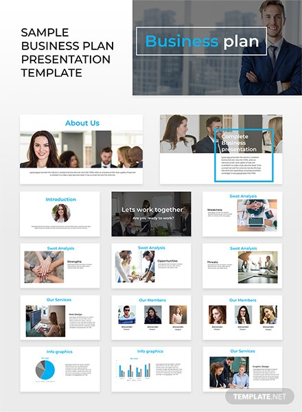 Sample Business Plan Powerpoint Presentation Template