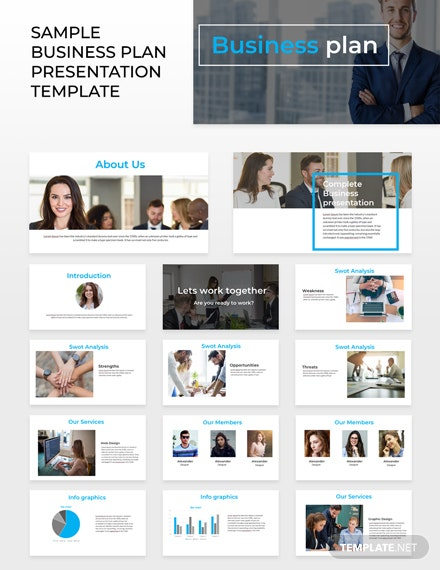 Free Sample Business Plan Powerpoint Presentation Template