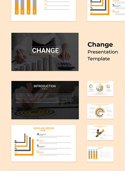 Gantt Chart Powerpoint Presentation Template