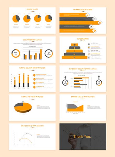Gantt Chart PowerPoint Presentation Template: Download 42+ ...