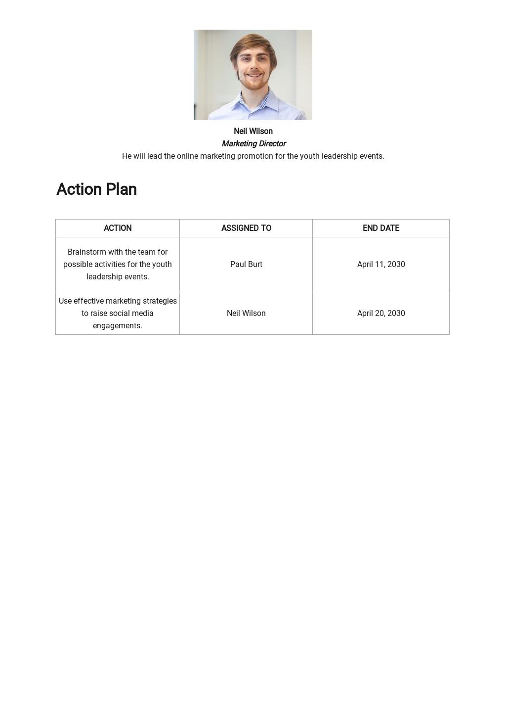 Strategic Marketing Plan Template for Nonprofit Organization 2.jpe