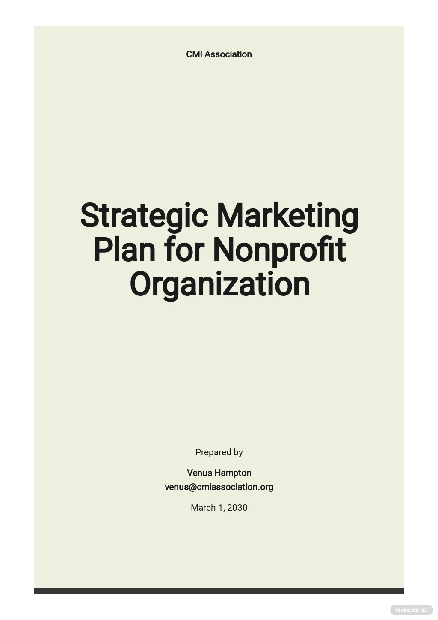 Strategic Marketing Plan Template for Nonprofit Organization.jpe
