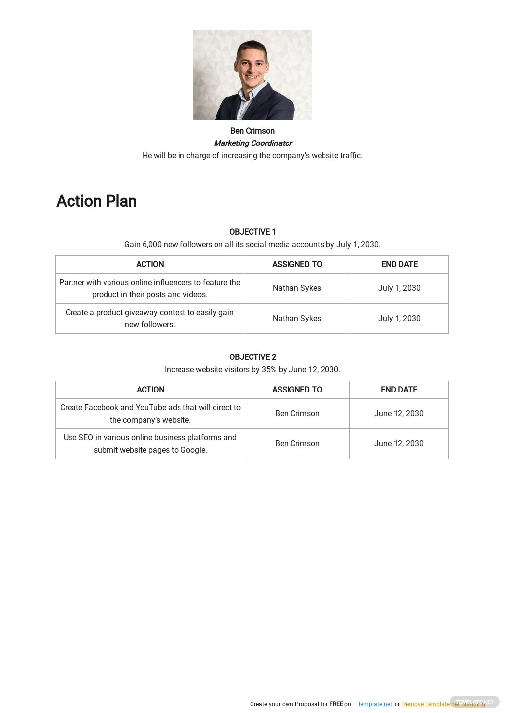 Digital Marketing Action Plan Template 2.jpe