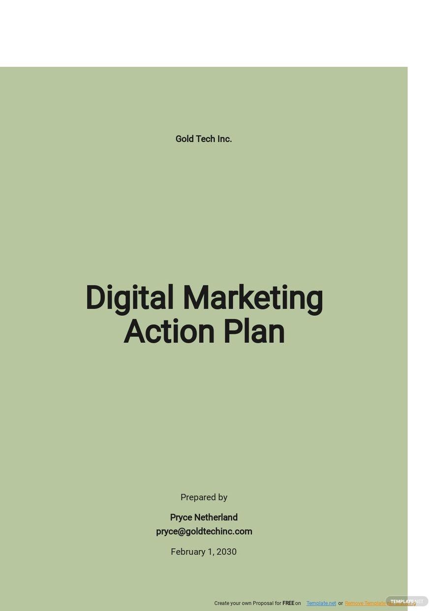 Digital Marketing Action Plan Template.jpe