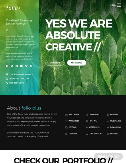 Design Agency HTML5/CSS3 Website Template