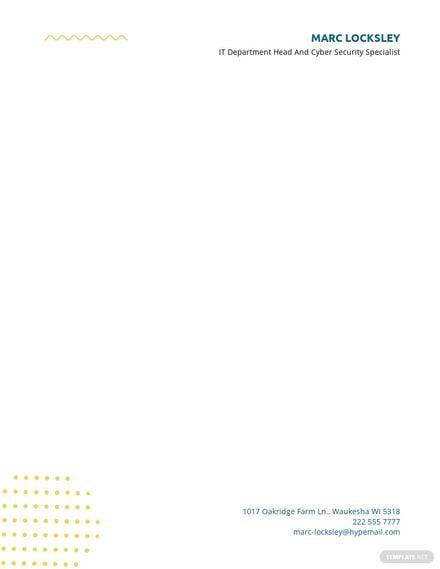 Modern Letterhead Layout Template.jpe